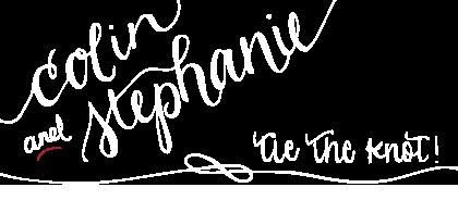 Colin & Stephanie Tie the Knot